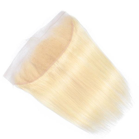 13x6 SWISS LACE Blonde Frontal: Straight