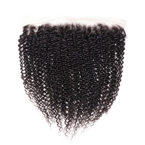 13x4 SWISS LACE Frontal: Kinky Curl