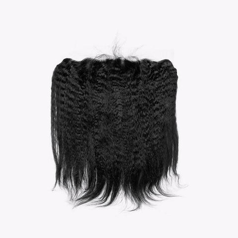 13x6 SWISS LACE Frontal: Kinky Straight