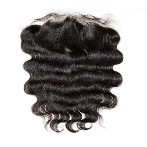 13x4  Lace Closure 100% Raw Human Hair- Body Wave