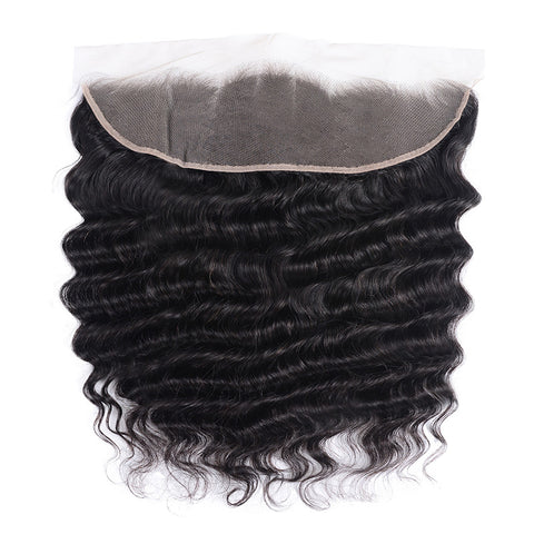 13x4 SWISS LACE Frontal: Pineapple Wave