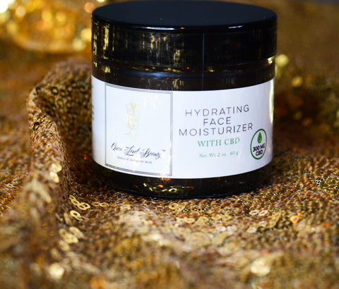 """Aqua Queen"" Hydrating Face Moisturizer with CBD"