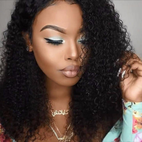 Queen Level Beauty FULL LACE  Wig 150% Density- KINKY CURL