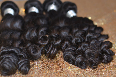 13x4 Bundle Kit: 3 Bundles + 1 Closure *Pineapple Wave*
