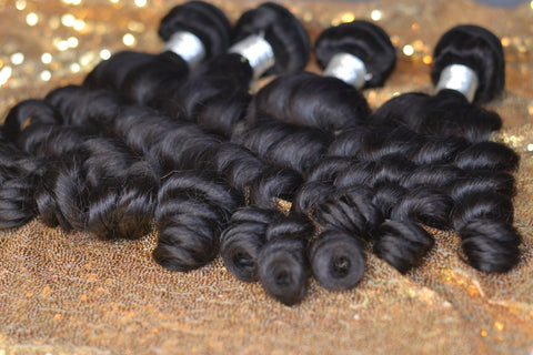 13x6 Bundle Kit: 3 Bundles +1 Closure *Pineapple Wave*