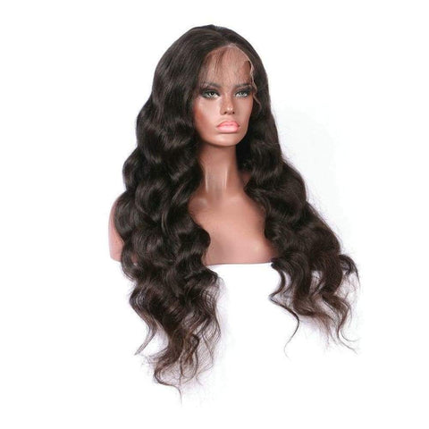 Queen Level Beauty Invisible Lace Wig- Body Wave  4x4 150% Density