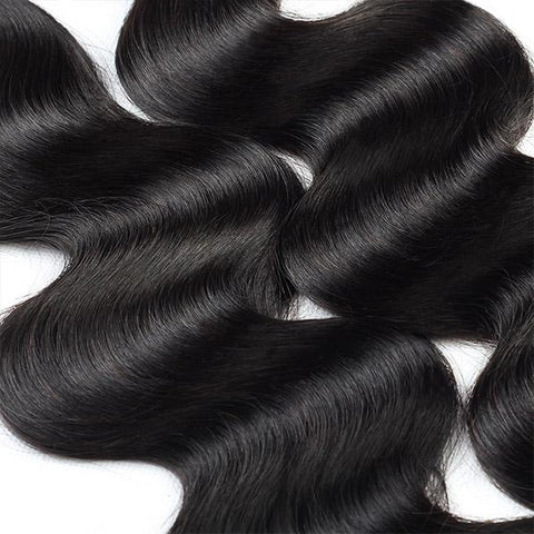 13x6 Bundle Kit: 4 Bundles +1 Closure *Body Wave*