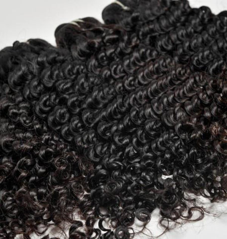 13x4 Bundle Kit: 4 Bundles +1 Closure *Curly*