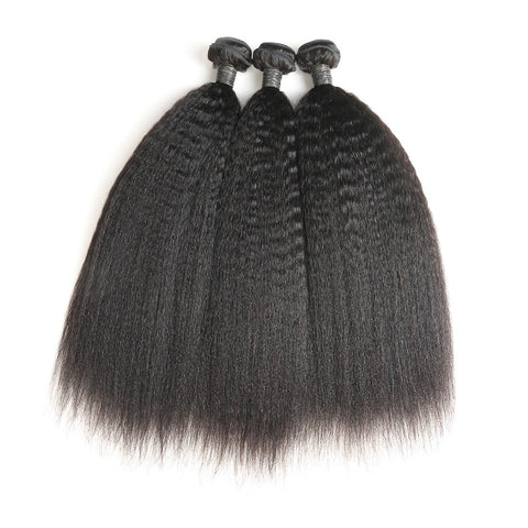 Queen Level Beauty Single Bundles (1)-Kinky Straight