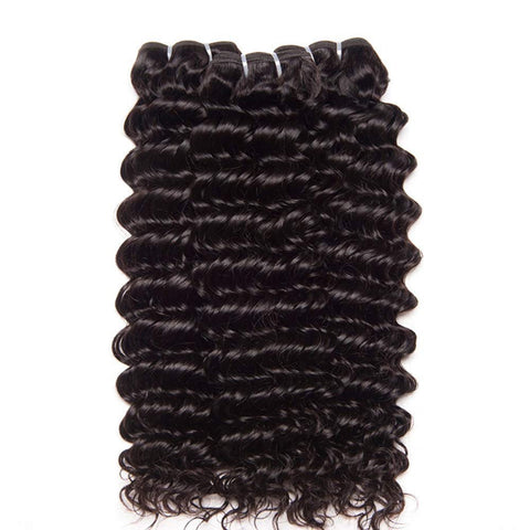 4x4 Bundle Kit: 3 Bundles + 1 Closure  *Tropical Deep Wave*