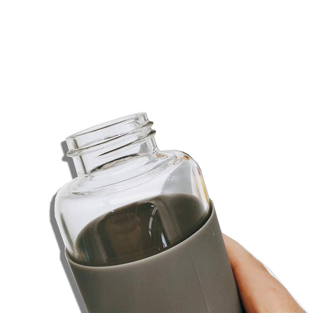 Eco Glass Water Bottle 500ml