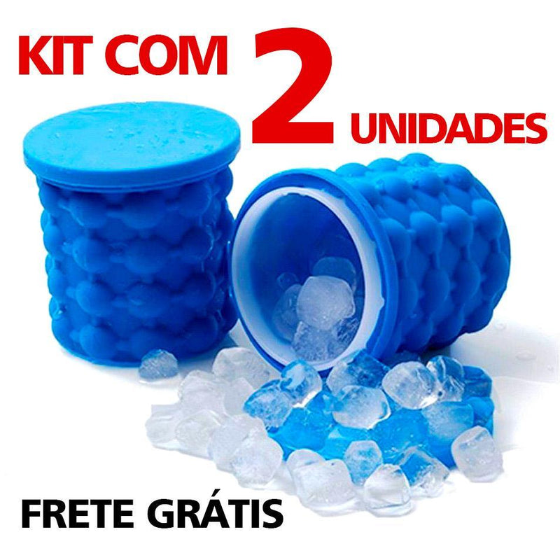 Gelo Fast em Silicone 120 cubos - Onetechbrasil