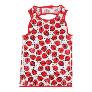 Lady Bugs Hero Bib
