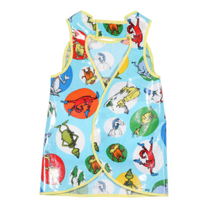 Dr. Seuss Hero Bib (blue)