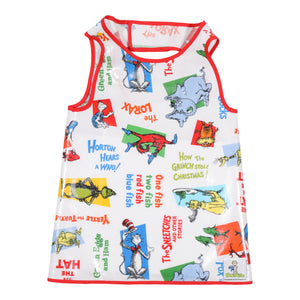 Dr. Seuss Hero Bib (white) - Hero Bibs