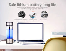 Load image into Gallery viewer, HYIO 430ML Portable Hydrogen Water Bottle Ionizer