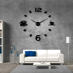 """Coffee Time"" Wall Clock"