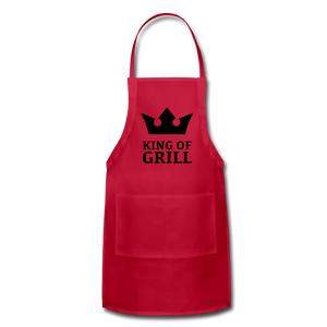 King of the Grill Adjustable Apron - Inspire Me Positive, LLC
