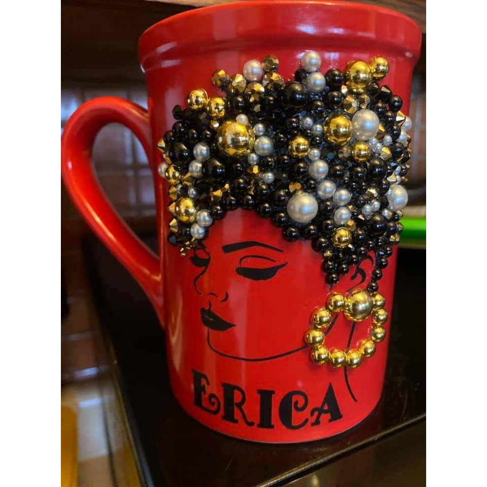 Personalized Bling Mug