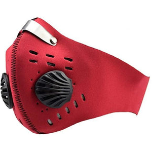 Red Neoprene Face Mask