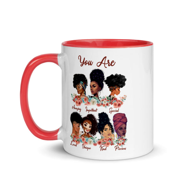 Beautiful Just As You Are Colorful Mug