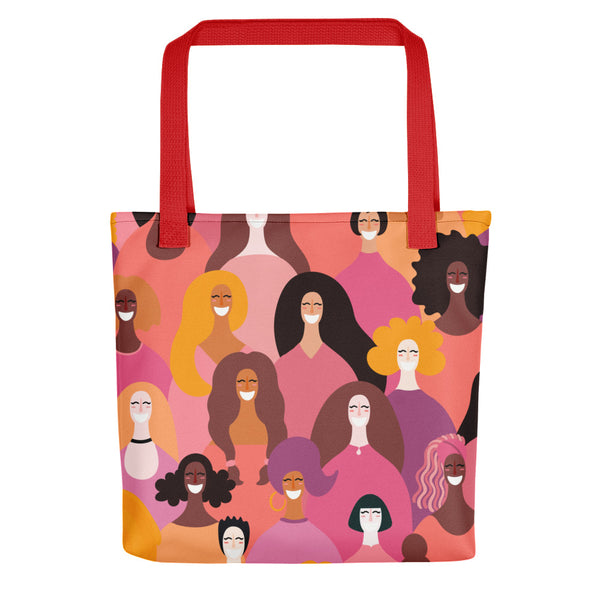 Girl Power Celebration Tote Bag - Inspire Me Positive, LLC
