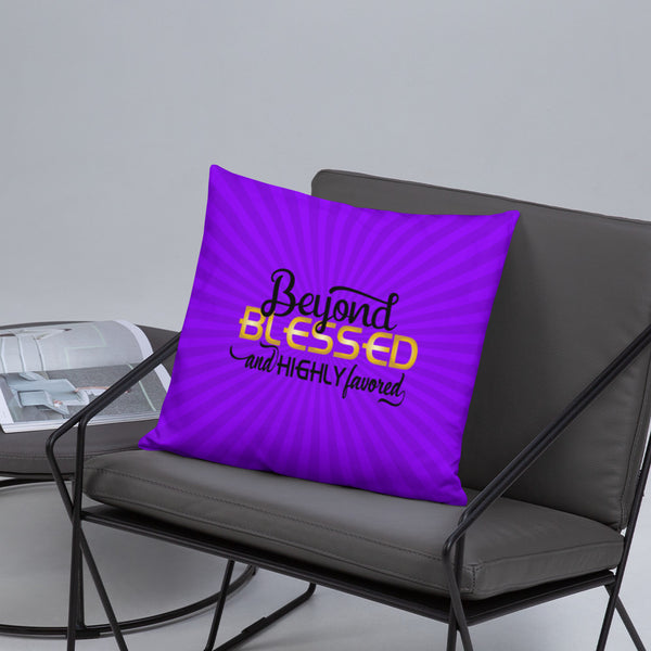 Blessed Accent Pillow - Inspire Me Positive, LLC
