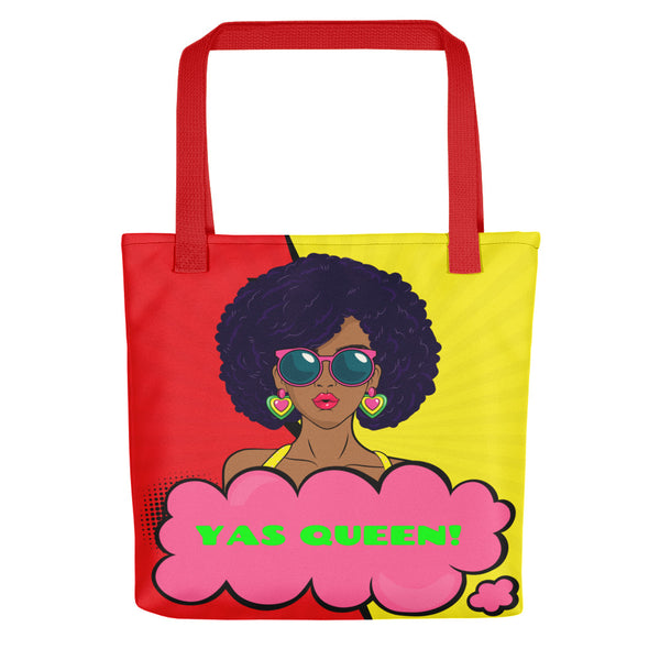 Yas Queen Tote Bag - Inspire Me Positive, LLC