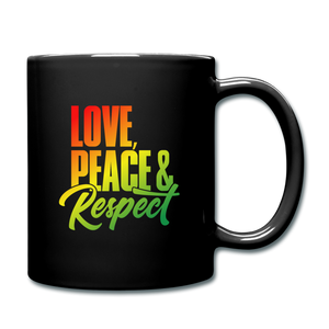 Love Peace and Respect Mug