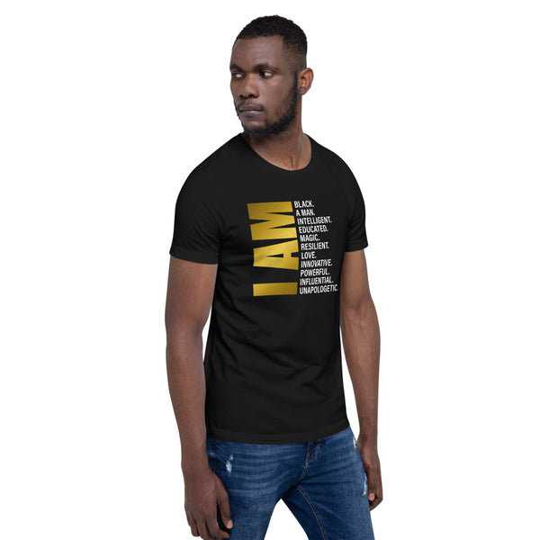 I Am A Black Man Statement T-Shirt
