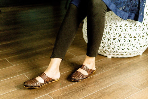 Belle Burnt Sienna most stylish office shoes for women in Malaysia -  Fireworks house