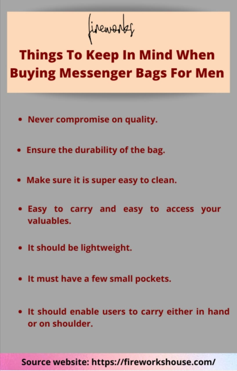 leather messenger bags for men in Malaysia- fireworkhouse