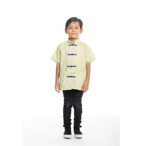 DAUN BOY SAMFU SHORT SLEEVES - Fireworkshouse