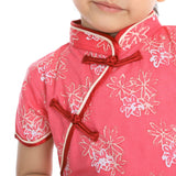 JASMINE GIRLS CHEONGSAM SHORT SLEEVES - Fireworkshouse