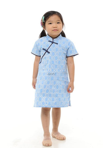ONGLAI GIRLS CHEONGSAM SHORT SLEEVES - Fireworkshouse