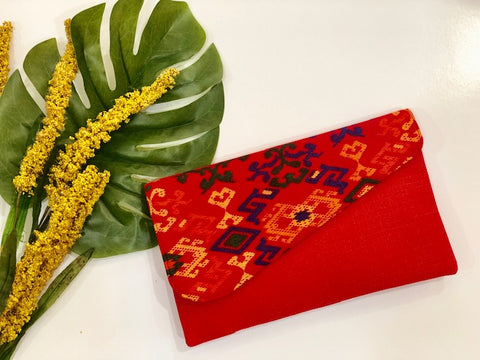 Handmade Envelope Clutch - Fireworkshouse