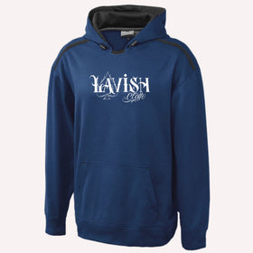Navy Blue Lavish Cloth Hoodie