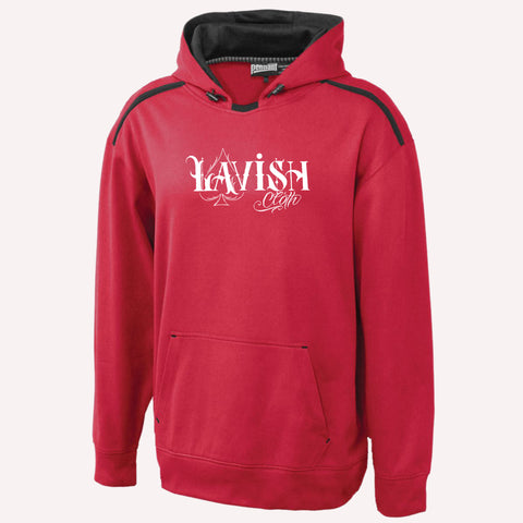 Red Lavish Cloth Hoodie