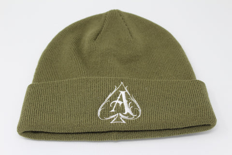 Olive Ace Beanie