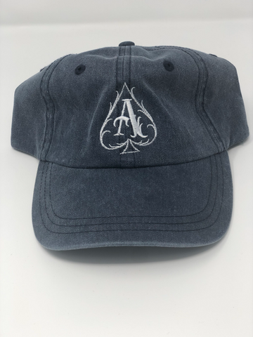Navy Pigment Ace Dad Hat