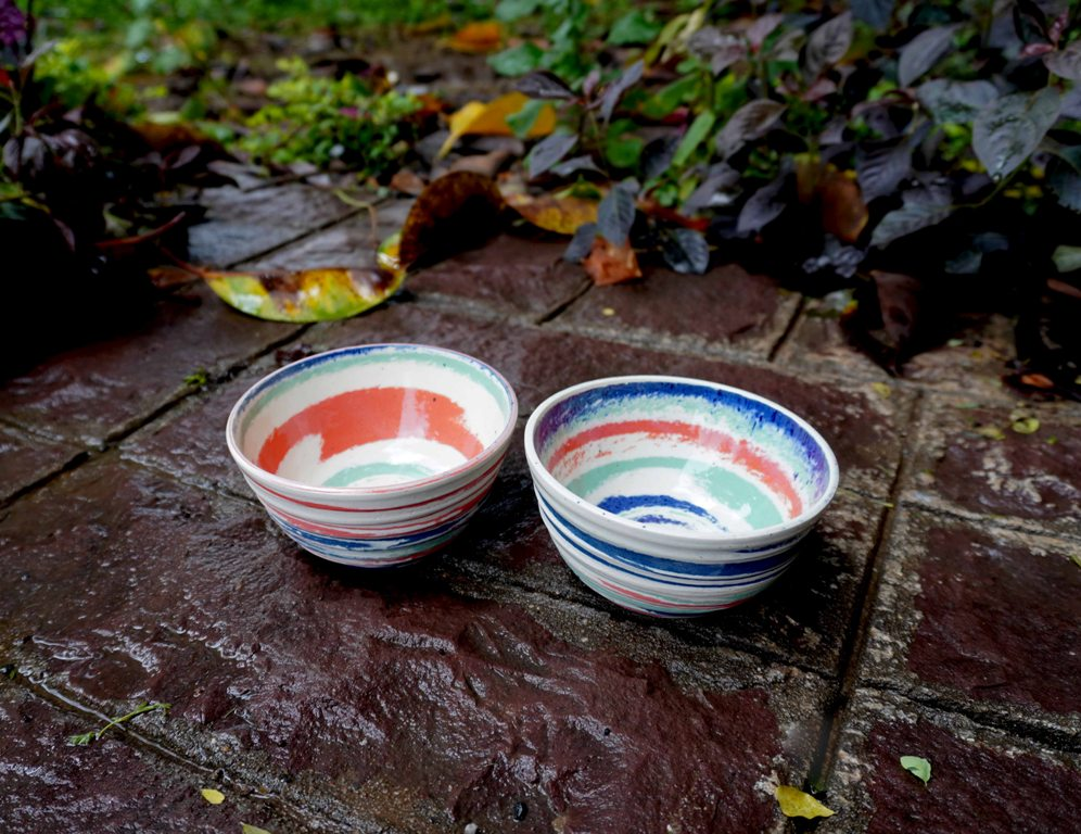 Jazzy Bowls (Set of 2)