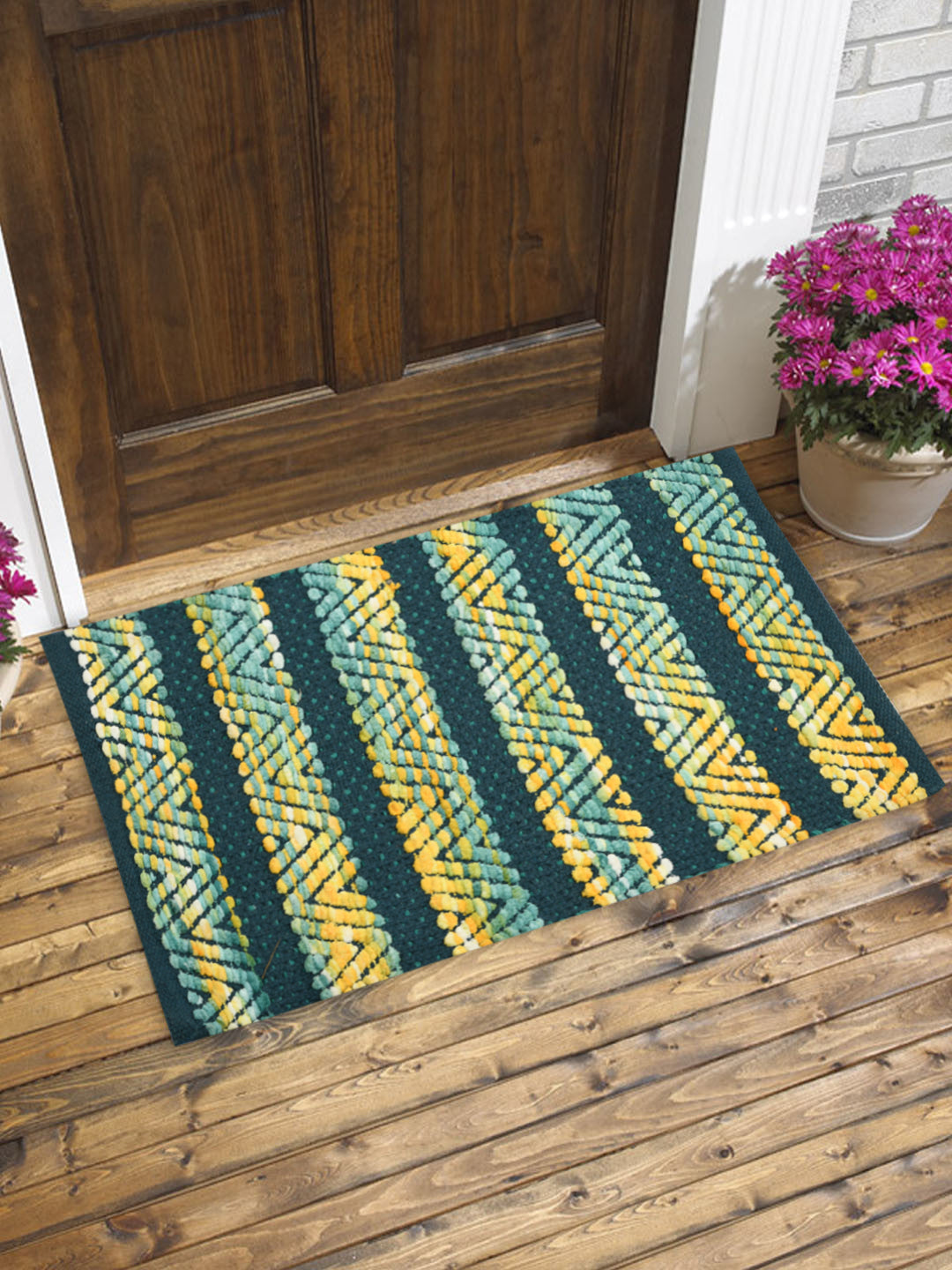 Handwoven Micro & Cotton Rugs (Set Of 2)