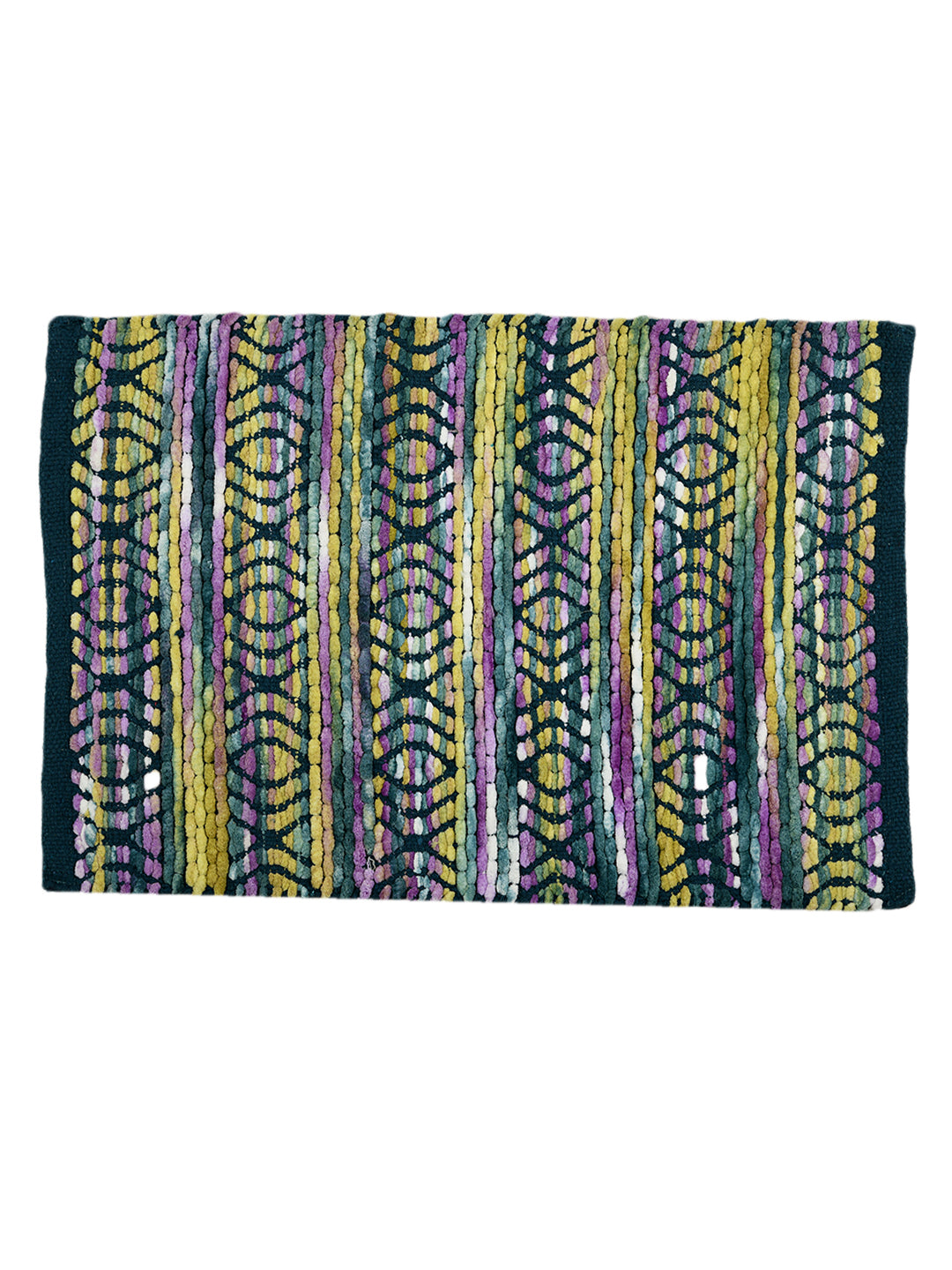 Abstract Handwoven Rugs (Set Of 2)