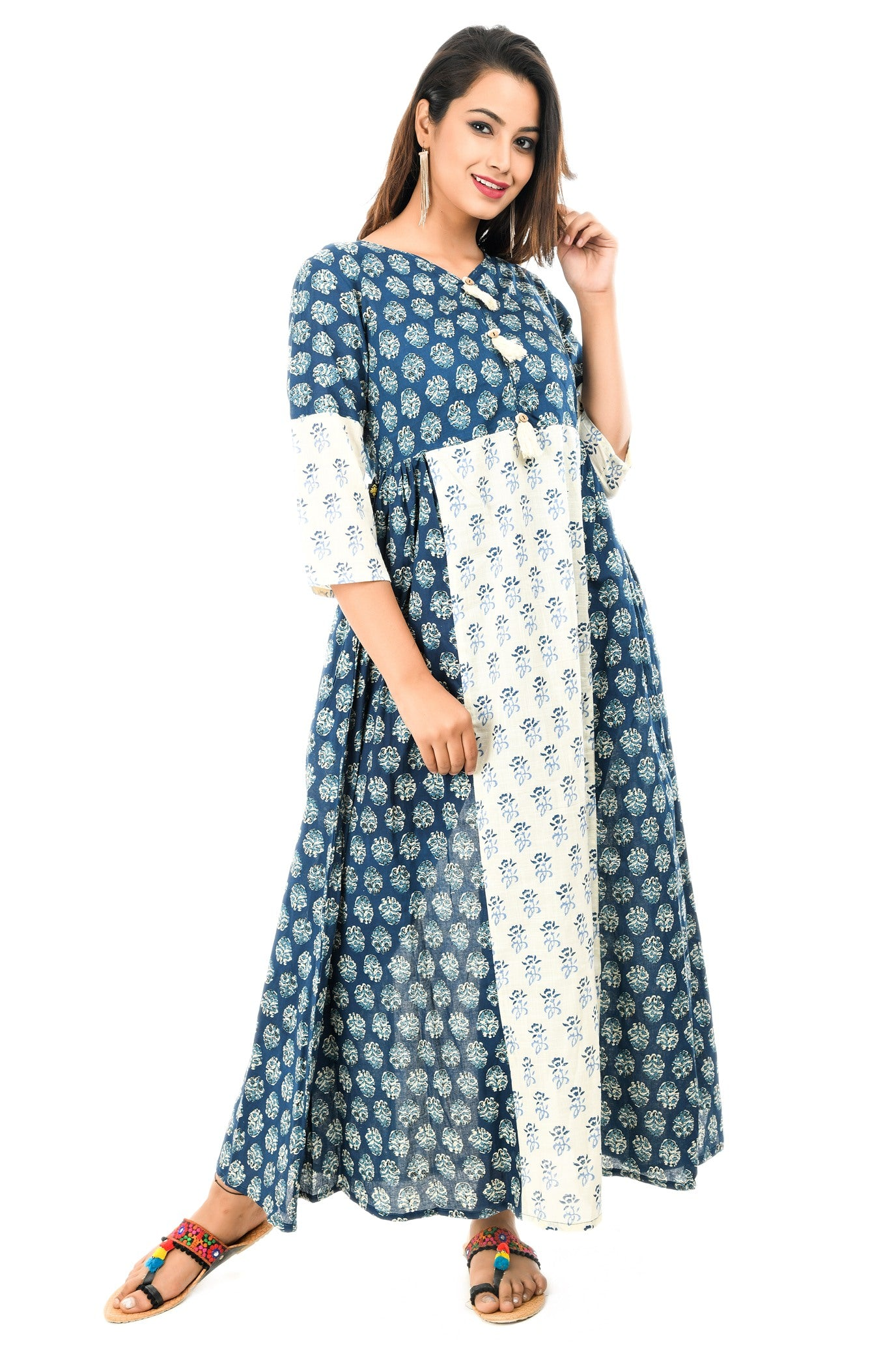 Printed Long Kurta