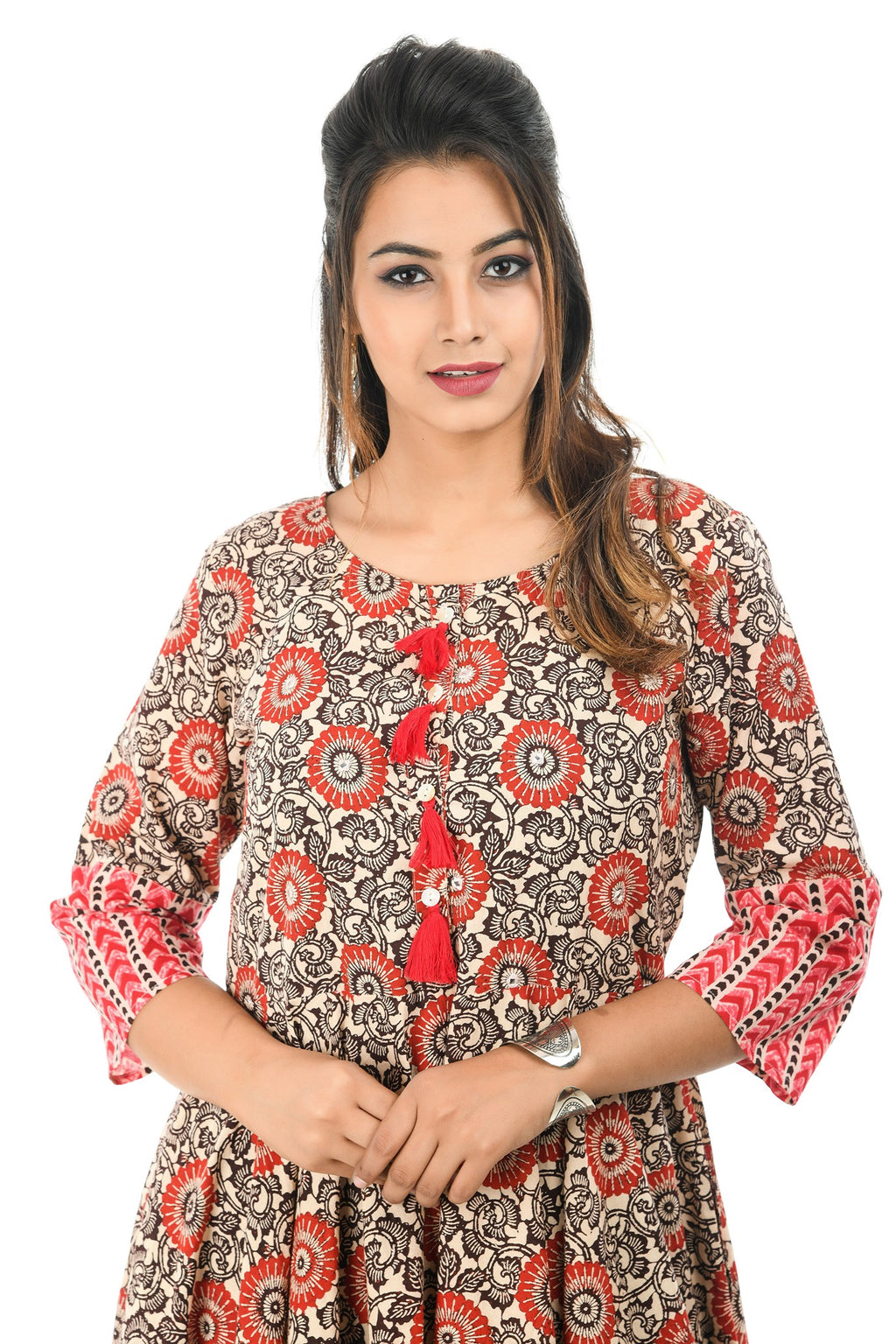 Floral Printed Long Kurta
