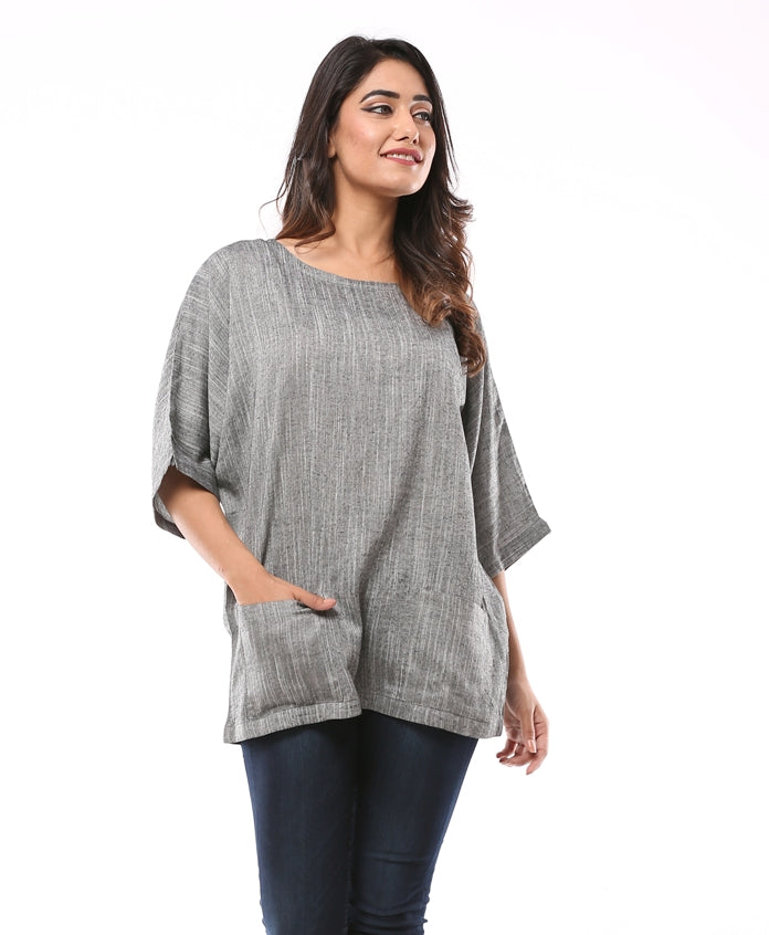 At-Ease Oversize Top Front Pocket