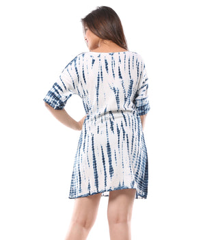 Hand Tie Dye Extended Sleeve Tunic
