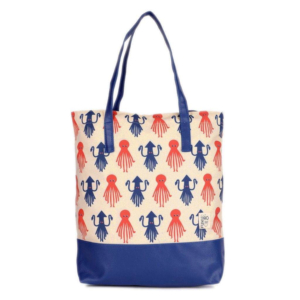 Octopus Canvas Tote