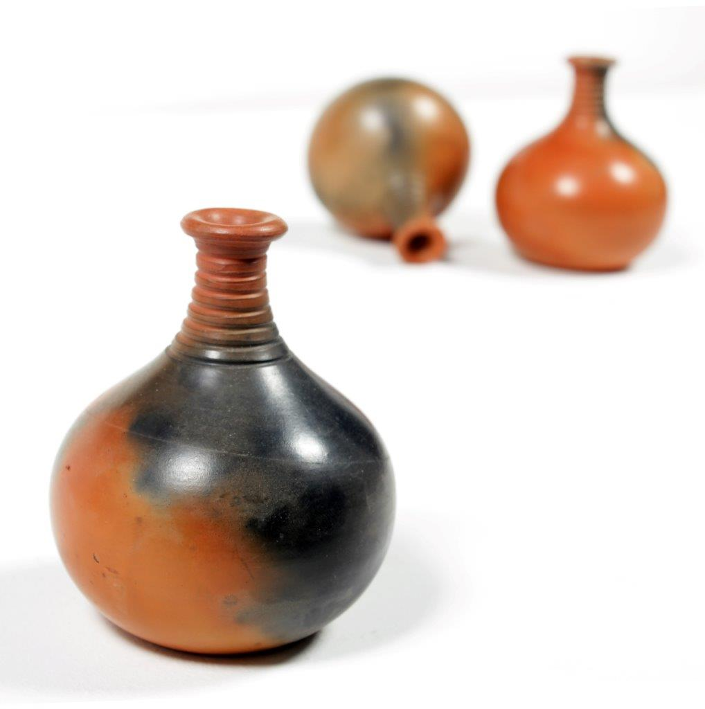 Terracotta Natural Long Pot  (Set of 3)