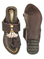 Six Braided Handmade Chappal